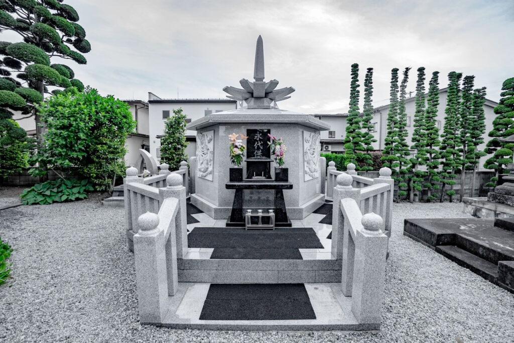 隆勝寺 永代供養塔